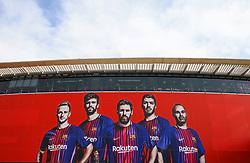 A general view outside the Camp Nou Stadium - Mandatory by-line: Matt McNulty/JMP - 14/03/2018 - FOOTBALL - Camp Nou - Barcelona, Catalonia - Barcelona v Chelsea - UEFA Champions League - Round of 16 Second Leg