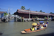 Near the floating market of Damnoen Saduak