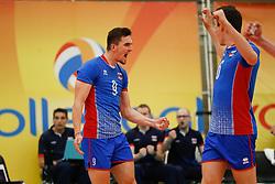 20170525 NED: 2018 FIVB Volleyball World Championship qualification, Koog aan de Zaan<br />Peter Mlynarcik (9) of Slovakia <br />©2017-FotoHoogendoorn.nl / Pim Waslander