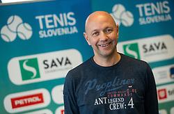 Andrej Krasevec during press conference of Tenis Slovenija when presented WTA Portoroz 2021 tournament, on February 18, 2021 in Kristalna palaca, Ljubljana, Slovenia. Photo by Vid Ponikvar / Sportida