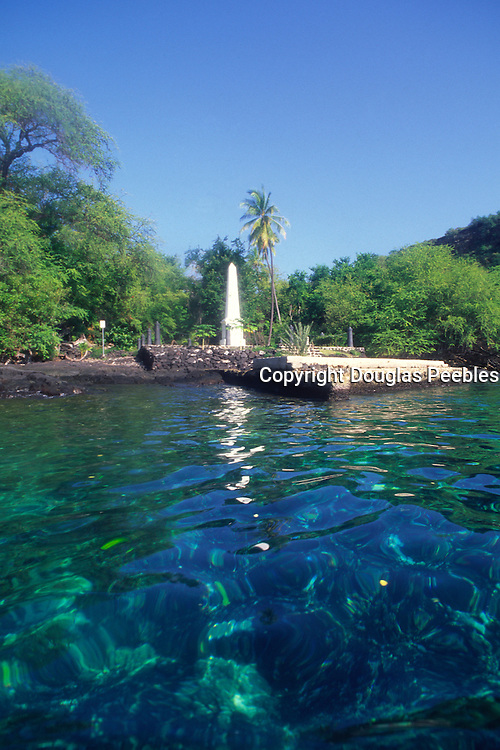 Captain Cook Monument, Kealakekua, Island of Hawaii<br />