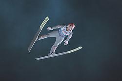 05.01.2021, Paul Außerleitner Schanze, Bischofshofen, AUT, FIS Weltcup Skisprung, Vierschanzentournee, Bischofshofen, Finale, Qualifikation, im Bild Daniel Huber (AUT) // Daniel Huber of Austria during the qualification for the final of the Four Hills Tournament of FIS Ski Jumping World Cup at the Paul Außerleitner Schanze in Bischofshofen, Austria on 2021/01/05. EXPA Pictures © 2020, PhotoCredit: EXPA/ JFK