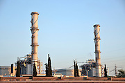 A natural gas operated powerstation Photographed in Israel