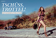 A fab feature about how to be the master of your situation and end a relationship in the April issue of Cosmopolitan, Germany. <br /> <br /> Image from our shoot 'the getaway', available for worldwide use with approval: http://www.apixsyndication.com/gallery/the-getaway/G0000Yw36hskTWXA/C00004G_48ylRUr4
