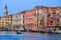 The Grand Canal, Venice, Italy
