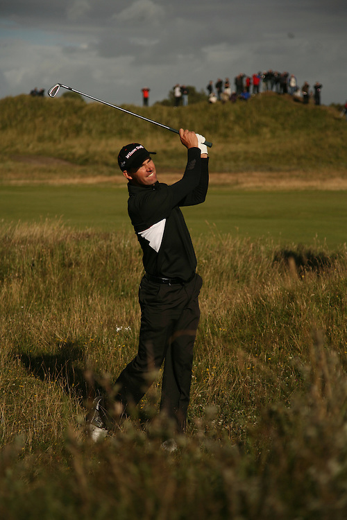 Padraig Harrington during the third round of the 2008 Open Championship at Royal Birkdale Golf Club in Southport, England, UK on Friday, July 18 2008. .