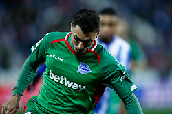 November 23, 2018 - Leganes, MADRID, SPAIN - Ximo Navarro of Alaves during the Spanish Championship La Liga football match between CD Leganes and Deportivo Alaves on November 23th, 2018 at Estadio de Butarque in Leganes, Madrid, Spain. (Credit Image: © AFP7 via ZUMA Wire)