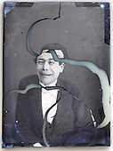 1900s mime actor making faces