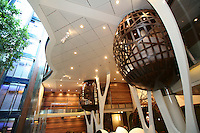 Celebrity Silhouette. Celebrity cruises' new ship launched in Hamburg 21st July 2011..Interior feature photos..Hideaway..