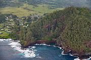 Kaihalulu, Res Seand Beach, Hana Coast, Maui, Hawaii