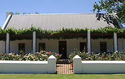 Feb 27, 2006; Stellenbosch, SOUTH AFRICA; Rupert & Rothschild Winery in Stellenbosch, South Africa. Stellenbosch is the capital of the Cape Winelands and was the second town to be founded in South Africa in 1685. A main tourist attraction of the Western Cape, Stellenbosch boosts over 200 estates that offer wine tastings (Credit Image: © Krista Kennell/ZUMAPRESS.com)