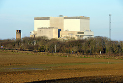 © Licensed to London News Pictures. 21/10/13 A nuclear power plant will be built in Britain for the first time in a generation. French power company EDF Energy are to build the £16billion plant at Hinkley Point in Somerset.Hinkley Point, Somerset, UK.<br />