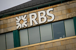 August 4, 2017 - Warsaw, Poland - Offices of the Royal Bank of Scotland (RBS) are seen in Warsaw, Poland on 4 August, 2017. The Royald Bank of Scotland has revealed it will move it's EU hub to mainland Europe from London post-Brexit. (Credit Image: © Jaap Arriens/NurPhoto via ZUMA Press)