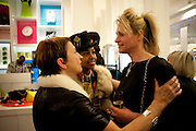 CAROL MORGAN-DAVIES; PINKY TESFAY; CLAIRE STANSFIELD,, The Nineties are Vintage. Concept Store, Rellik and Workit. The Wonder Room. Selfridges. Oxford St. London. 7 January 2010.