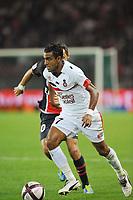 FOOTBALL - FRENCH CHAMPIONSHIP 2011/2012 - L1 - PARIS SAINT GERMAIN v OGC NICE - 21/09/2011 - PHOTO GUY JEFFROY / DPPI - FABRICE ABRIEL (NICE)