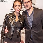 NLD/Amsterdam/20160206 - Premiere balletvorstelling Mata Hari, Daniel Boissevain en partner Vanessa Henneman