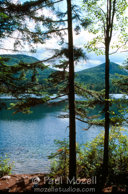 Sawyer Pond in the White Mountain National Forest, New Hampshire