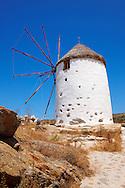 Old Windmill - Naxos-Greek Cyclades Island