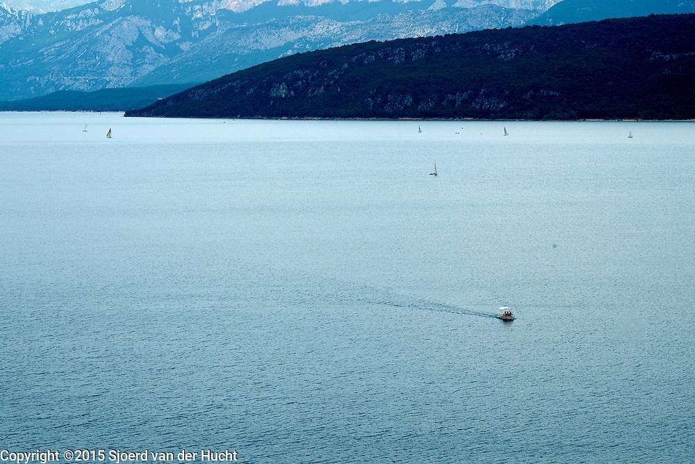 Stuwmeer Lac de Sainte Croix, Var, Frankrijk - Artificial lake, Lake of Sainte Croix, Var, France