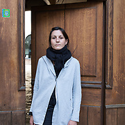 Piccolo Teatro Grassi, Milano, Italia, 29 Marzo 2021. Diana Ferri, 40 anni, Sarta di Scena.