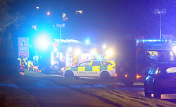 """Police have closed the A32 in both directions following a serious collision near Wickham.<br /> <br /> Traffic is being asked to avoid the area whilst officers deal with the incident involving a number of vehicle on the accident blackspot know locally as """"car crash alley""""<br /> <br /> Emergency services who were called to the scene just after 7.30pm this evening are trying to free a family trapped in one of the three vehicles Involved . The Hampshire and Isle of Wight Air ambulance has also been called in to assist . Two Fire Crews from Fareham are using cutting equipment to remove the roof of the vehicle. South Central Ambulance have sent a Hazardous area response team to the incident The rescue efforts are being hampered by the rain A spokesman for Hampshire and Isle of Wight Road Police said"""" A 14-year-old boy has suffered serious injuries as a result of the crash. The road is currently closed northbound (towards Wickham ) so please try to avoid the area if at all possible while emergency services manage the incident."""" He went onto say that they have spoken to a number of witnesses. No one as been arrested."""
