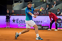 Swiss Stan Wawrinka during Mutua Madrid Open Tennis 2017 at Caja Magica in Madrid, May 10, 2017. Spain.<br /> (ALTERPHOTOS/BorjaB.Hojas)