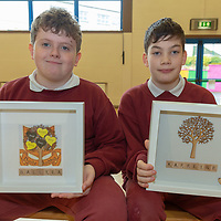 Cillian Hehir and David Fitzgerald with their Jessies project Family Frames