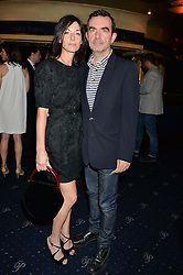 MARY McCARTNEY and SIMON ABOUD at The Hoping Foundation's 'Starry Starry Night' Benefit Evening For Palestinian Refugee Children held at The Cafe de Paris, Coventry Street, London on 19th June 2014.