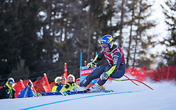29.12.2016, Deborah Compagnoni Rennstrecke, Santa Caterina, ITA, FIS Ski Weltcup, Santa Caterina, alpine Kombination, Herren, Super G, im Bild Valentin Giraud Moine (FRA) // Valentin Giraud Moine of France in action during the SuperG competition for the men's Alpine combination of FIS Ski Alpine World Cup at the Deborah Compagnoni race course in Santa Caterina, Italy on 2016/12/29. EXPA Pictures © 2016, PhotoCredit: EXPA/ Johann Groder