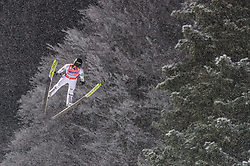 19.01.2018, Heini Klopfer Skiflugschanze, Oberstdorf, GER, FIS Skiflug Weltmeisterschaft, Einzelbewerb, im Bild Peter Prevc (SLO) // Peter Prevc of Slovenia during individual competition of the FIS Ski Flying World Championships at the Heini-Klopfer Skiflying Hill in Oberstdorf, Germany on 2018/01/19. EXPA Pictures © 2018, PhotoCredit: EXPA/ JFK