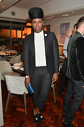 PRINCE CASSIUS at a dinner to celebrate 20 years of Maria Grachvogel's fashion label held at Salmontini, 1 Pont Street, London on 22nd October 2014.
