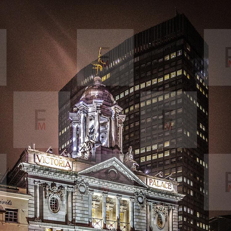Il teatro Victoria Palace.<br /> <br /> Victoria Palace theatre.