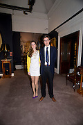 OLIVIA MANCA; HER FATHER PAOLO MANCA , Preview party for the Versace Sale.  The contents of fashion designer Gianni Versace's villa on Lake Como. Sothebys. Old Bond St. London. 16 March 2009.  *** Local Caption *** -DO NOT ARCHIVE -Copyright Photograph by Dafydd Jones. 248 Clapham Rd. London SW9 0PZ. Tel 0207 820 0771. www.dafjones.com<br /> OLIVIA MANCA; HER FATHER PAOLO MANCA , Preview party for the Versace Sale.  The contents of fashion designer Gianni Versace's villa on Lake Como. Sothebys. Old Bond St. London. 16 March 2009.