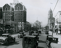 1930 Looking west on Hollywood Blvd. towards McCadden Pl.