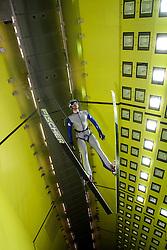 19.10.2013, Klima Wind Kanal, Wien, AUT, OESV, Nordische Kombination Skisprungtraining im Wind Kanal, im Bild Bernhard Gruber // during the Skijump training in the Climatic Wind Tunnel, Austria 20131019. EXPA Pictures © 2013, PhotoCredit: EXPA/ Sascha Trimmel