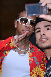 Tyga arriving at the Louis Vuitton show during the Paris Men's fashion Week Spring Summer 2018, in Paris, France on june 22, 2017. Photo by Aurore Marechal/ABACAPRESS.COM