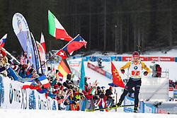 Philipp Horn (GER) during the Mixed Relay 2x 6 km / 2x 7,5 km at day 3 of IBU Biathlon World Cup 2019/20 Pokljuka, on January 23, 2020 in Rudno polje, Pokljuka, Pokljuka, Slovenia. Photo by Peter Podobnik / Sportida