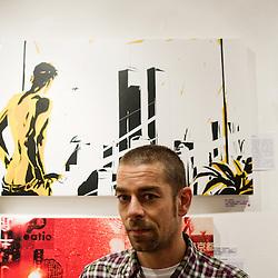 illustrator. Paris, France. 14 November 2009. Photo: Antoine Doyen