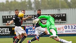 Falkirk's John Baird. Falkirk 2 v 0 Ayr, Scottish Championship game played 24/9/2016 at The Falkirk Stadium .