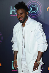 November 11, 2016 - New York, NY, USA - November 11, 2016  New York City..Jason Derulo attending the 2016 Nickelodeon HALO awards at Basketball City Pier 36  South Street on November 11, 2016 in New York City. (Credit Image: © Callahan/Ace Pictures via ZUMA Press)