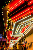 Neon lights, Downtown Las Vegas, Nevada USA.