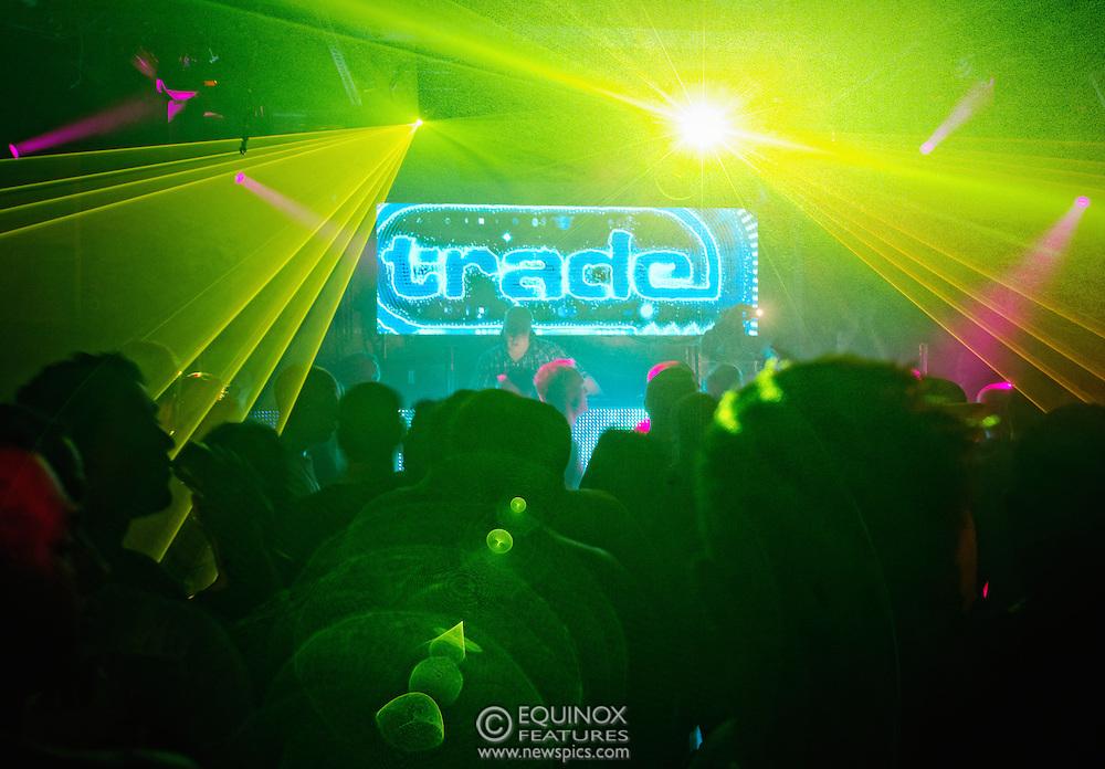 London, United Kingdom - 2 November 2013<br /> DJ Ian M (Ian Mulford) DJing at the 23rd birthday party for Trade gay club night at Egg nightclub, York Way, King's Cross, London, England, UK.<br /> Contact: Equinox News Pictures Ltd. +448700780000 - Copyright: ©2013 Equinox Licensing Ltd. - www.newspics.com<br /> Date Taken: 20131102 - Time Taken: 201228+0000