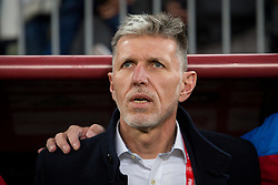 November 15, 2018 - Gdansk, Pomorze, Poland - Coach Jaroslav Silhavy during the international friendly soccer match between Poland and Czech Republic at Energa Stadium in Gdansk, Poland on 15 November 2018  (Credit Image: © Mateusz Wlodarczyk/NurPhoto via ZUMA Press)