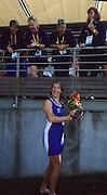 Sydney, AUSTRALIA, GBR W4X Silver Medalist, Katherine GRAINGER a. 2000 Olympic Regatta, West Lakes Penrith. NSW.  [Mandatory Credit. Peter Spurrier/Intersport Images] Sydney International Regatta Centre (SIRC) 2000 Olympic Rowing Regatta00085138.tif