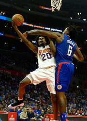 October 21, 2017 - Los Angeles, California, U.S. - in the first quarter during an NBA basketball game at the Staples Center on Saturday, Oct 21, 2017 in Los Angeles. .(Photo by Keith Birmingham, Pasadena Star-News/SCNG) (Credit Image: © San Gabriel Valley Tribune via ZUMA Wire)