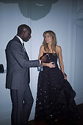Oswald Boateng and Natascha McElhone, Weinstein Bafta after-party in association with Chopard. Bungalow 8. London. 10  February 2008.  *** Local Caption *** -DO NOT ARCHIVE-© Copyright Photograph by Dafydd Jones. 248 Clapham Rd. London SW9 0PZ. Tel 0207 820 0771. www.dafjones.com.