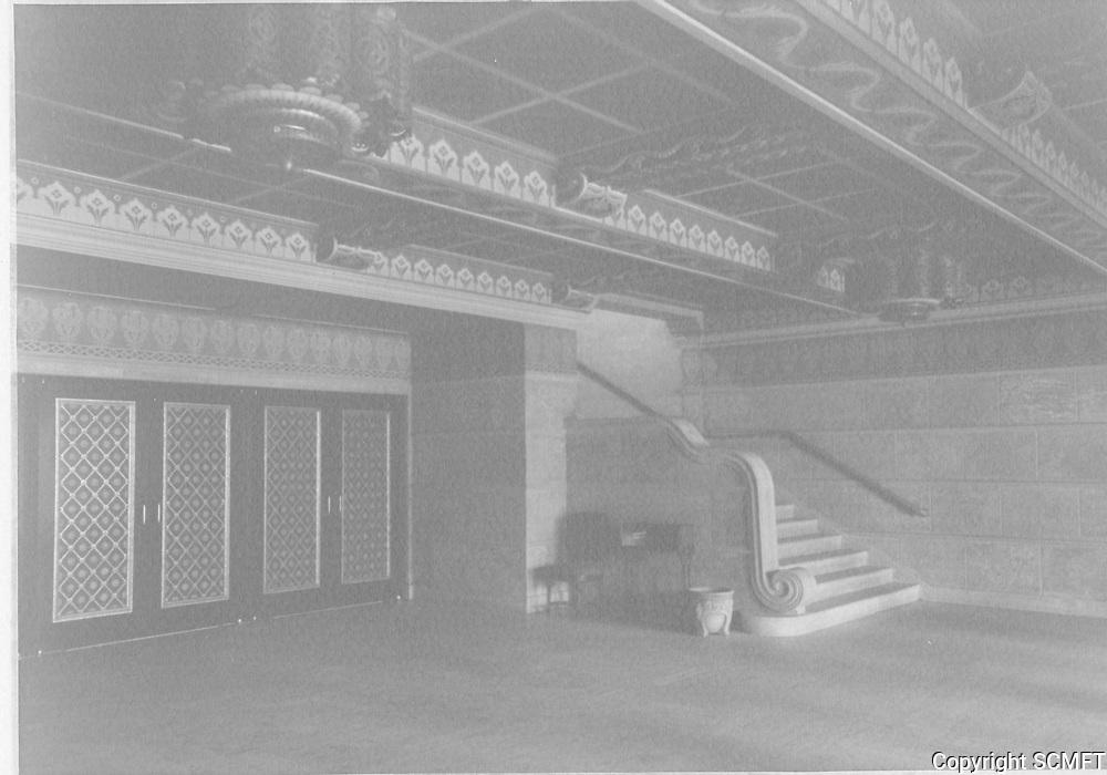 1926 Interior of the El Capitan Theater