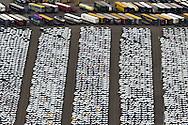 ROTTERDAM - Opslag van geïmporteerde personenauto's in Botlek bij Rozenburg.<br /> Sinds 1981 is aan de Brittanniëhaven een overslagbedrijf voor auto's gevestigd. Per jaar komen hier 250 PCTC's (Pure Car Transport Carriers) aan met auto's aan boord, die hiervandaan via trein en wegvervoer over heel Europa worden verdeeld.
