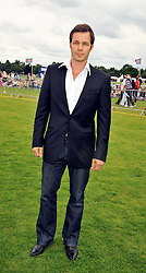 Paul Sculfor at the 25th annual Cartier International Polo held at Guards Polo Club, Great Windsor Park, Berkshire on 26th July 2009.