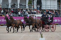 Horde Anthony, FRA, Collin, Don Johnson, Quinn, Zidane, Ziezo<br /> FEI European Driving Championships - Goteborg 2017 <br /> © Hippo Foto - Stefan Lafrenz